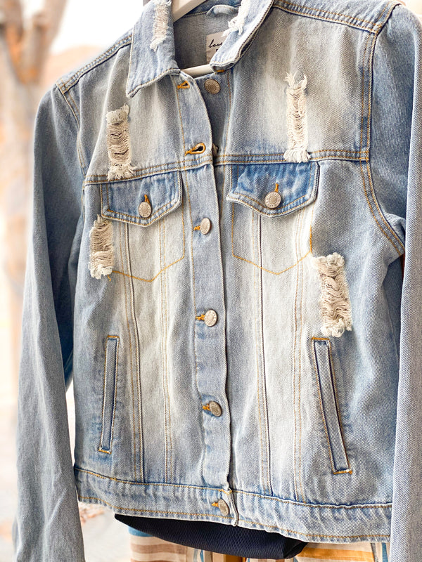 Denim Jacket - Lt Blue