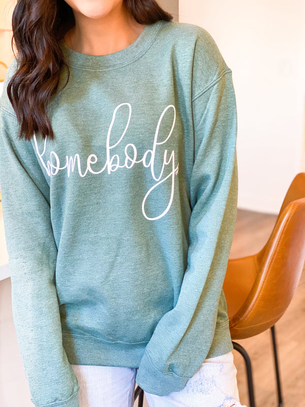 Homebody Sweatshirt - Green