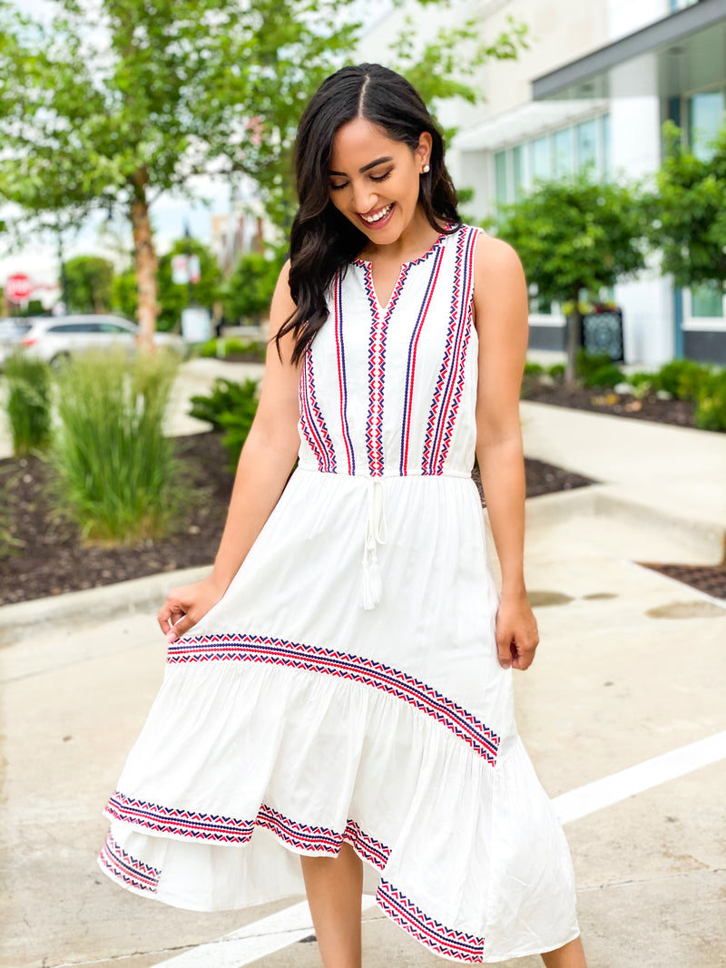 Summers in Greece Dress