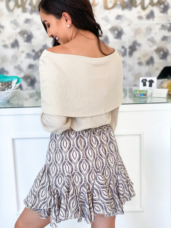 Pretty in Paisley Skirt