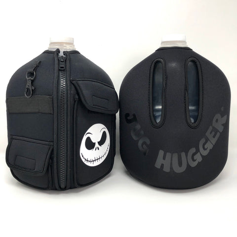 GLOW-IN-THE-DARK Jack on Ghost Black Jug Hugger®