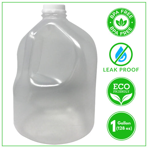 BPA-Free Gallon Jug + Leak Proof Cap