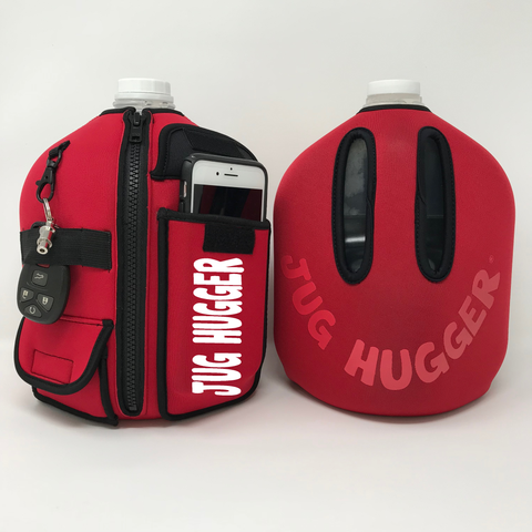 Personalized Ghost Red Jug Hugger® *PRE-ORDER*