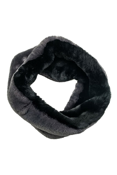 Endless loop faux snood