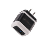 Universal Retractable Fast Charging USB Wall Charger