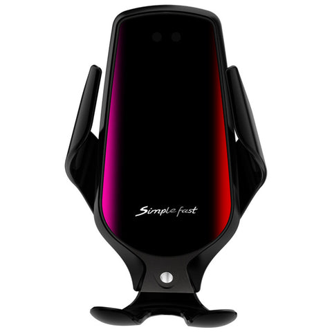 Automatic Clamping Qi Wireless Charging Car Charger
