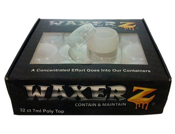 Concentrate Containers - 32 Count Polystyrene top/Silicone base