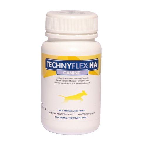 Technyflex® HA Canine 60 capsules- ALL NEW Joint Supplement With Hyaluronic Acid