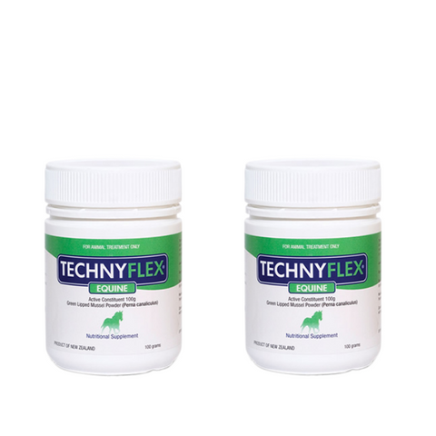 SPECIAL OFFER:  Save $20 On Two 100 Gram Technyflex Equine Premium Joint Supplement