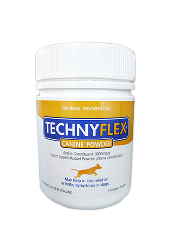 Technyflex® Canine Premium Joint Supplement 100 Gram Powder - SAVE 40% NOW!