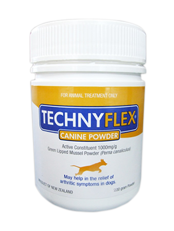 Technyflex® Canine Premium Joint Supplement ™ 200g Tub - SAVE 18% NOW!