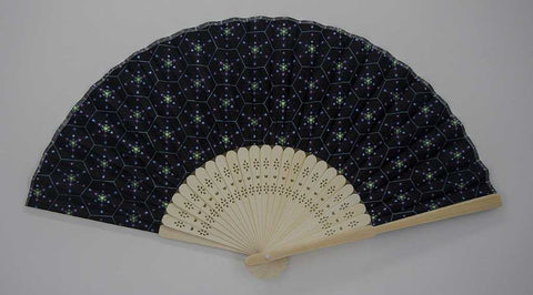 The Headspace Tetra Foldable Festival Hand Fan