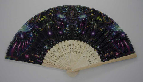 The Headspace Huachamama Foldable Festival Hand Fan