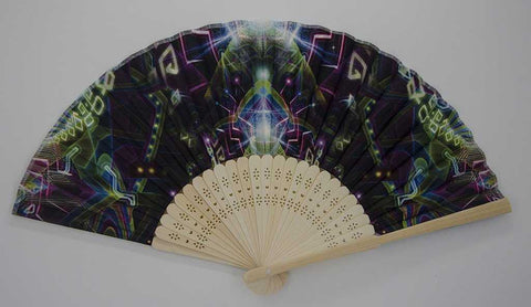 The Headspace Ungulation Foldable Festival Hand Fan