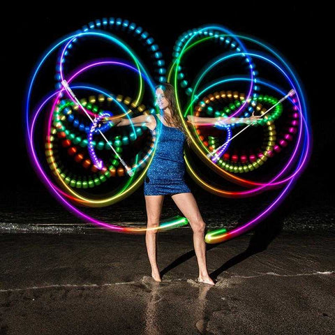 Flowtoys LED Full Spectrum Crystal Poi