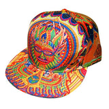The Headspace Neo Human Evolution Snapback Hat w/ Hidden Pocket - Futuristic Lights - 1