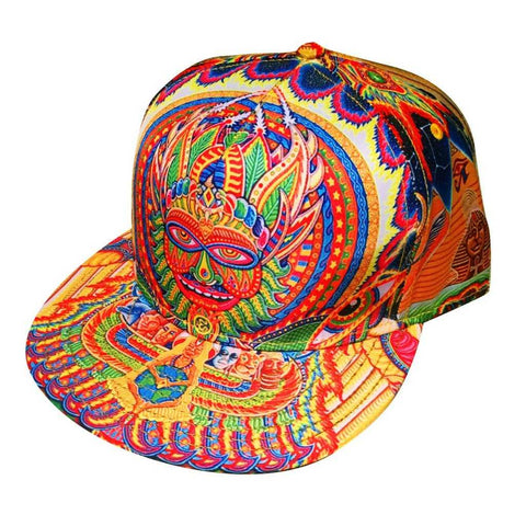 The Headspace Neo Human Evolution Snapback Hat w/ Hidden Pocket