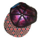 The HeadSpace Sam Farrand Space Snapback Hat w/ Hidden Pocket - Futuristic Lights - 4