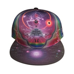 The HeadSpace Sam Farrand Space Snapback Hat w/ Hidden Pocket