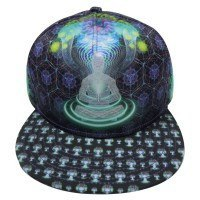 The HeadSpace Sam Farrand Dreamtime Snapback Hat w/ Hidden Pocket