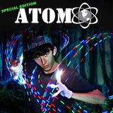 SE Atom Motion Reactive C2C LED Light Gloves | Futuristic Lights