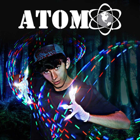 Atom Motion Reactive C2C LED Light Gloves