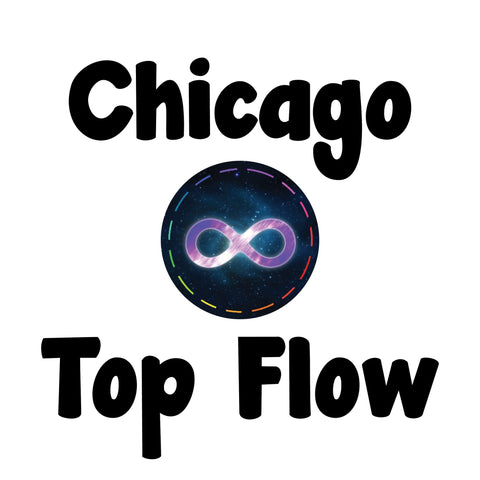 Futuristic Lights Chicago Top Flow Competition Ticket