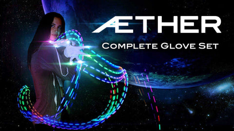 Aether LED Light Gloves