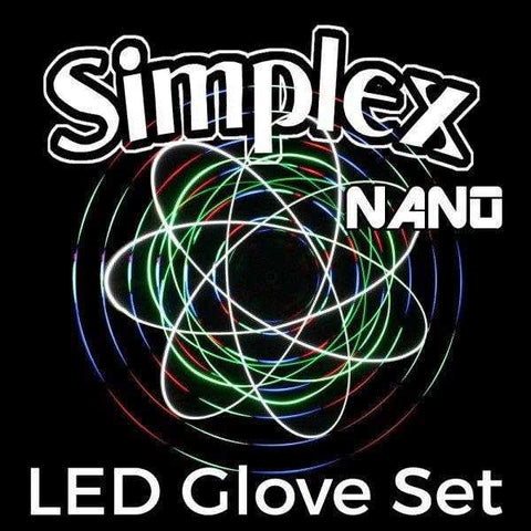 Kinetic Motion Reactive LED Glove Set