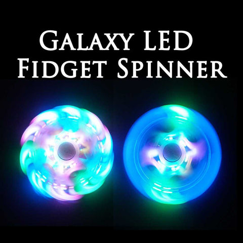 The Galaxy LED Fidget Spinner Kickstarter Edition