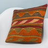 Anatolian Multi Color Kilim Pillow Cover 16x16 3616 - kilimpillowstore  - 2