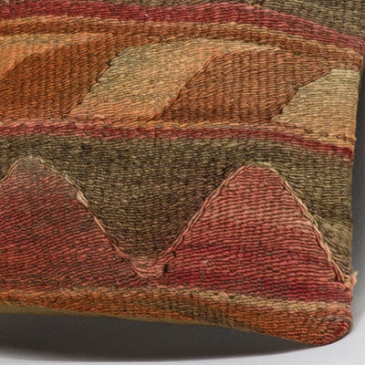 Anatolian Multi Color Kilim Pillow Cover 16x16 3622 - kilimpillowstore  - 3