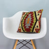 Anatolian Multi Color Kilim Pillow Cover 16x16 3625 - kilimpillowstore  - 1