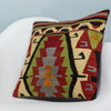 Anatolian Multi Color Kilim Pillow Cover 16x16 3627 - kilimpillowstore  - 2