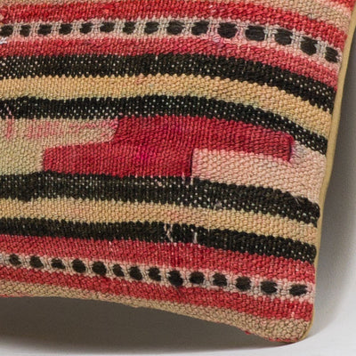 Anatolian Multi Color Kilim Pillow Cover 16x16 3835 - kilimpillowstore  - 3