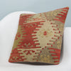 Anatolian Multi Color Kilim Pillow Cover 16x16 3887 - kilimpillowstore  - 2