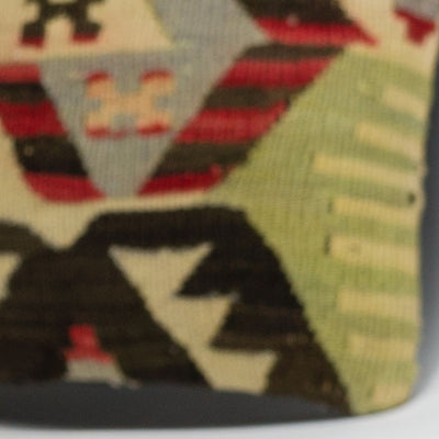 Anatolian Multi Color Kilim Pillow Cover 16x16 3946 - kilimpillowstore  - 3