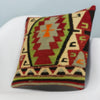 Anatolian Multi Color Kilim Pillow Cover 16x16 3948 - kilimpillowstore  - 2
