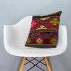 Anatolian Multi Color Kilim Pillow Cover 16x16 3983 - kilimpillowstore  - 1