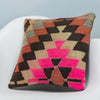 Chevron Multi Color Kilim Pillow Cover 16x16 3479 - kilimpillowstore  - 2