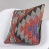 Chevron Multi Color Kilim Pillow Cover 16x16 4860 - kilimpillowstore  - 2