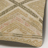 Geometric Beige Kilim Pillow Cover 16x16 3123 - kilimpillowstore
