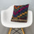 Geometric Multi Color Kilim Pillow Cover 16x16 3074 - kilimpillowstore