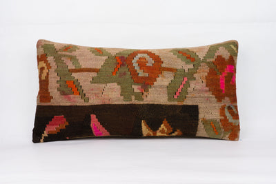 Moldovian Multi Color Kilim Pillow Cover 12x24 4272 - kilimpillowstore  - 1