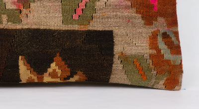 Moldovian Multi Color Kilim Pillow Cover 12x24 4272 - kilimpillowstore  - 3