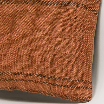 Plain Brown Kilim Pillow Cover 16x16 2932 - kilimpillowstore