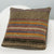 Striped Brown Kilim Pillow Cover 16x16 2821 - kilimpillowstore