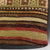 Striped Green Kilim Pillow Cover 16x16 3544 - kilimpillowstore  - 3