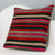 Striped Multi Color Kilim Pillow Cover 16x16 3190 - kilimpillowstore