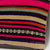 Striped Multi Color Kilim Pillow Cover 16x16 3202 - kilimpillowstore